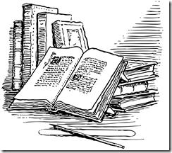 kirjoja, kuvituskuva