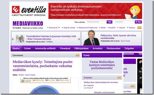 Mediaviikko_ Etusivu - Mediaviikko - Viestinnän ja median uutisia_1286867419779