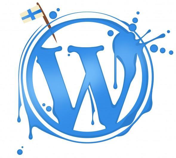 Wordpress Suomi, kuvitus, kuvittaja Pirita Tolvanen